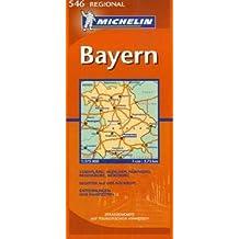 Bayern: 1:375000 (Michelin Regional Deutschland)