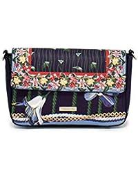Desigual Tropic Carry Shoulder Bag Sporttasche Umhängetasche Schultertasche