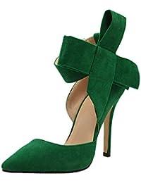 Amazon.it  Scarpe Con Tacco Verde  Scarpe e borse 186940d38a0