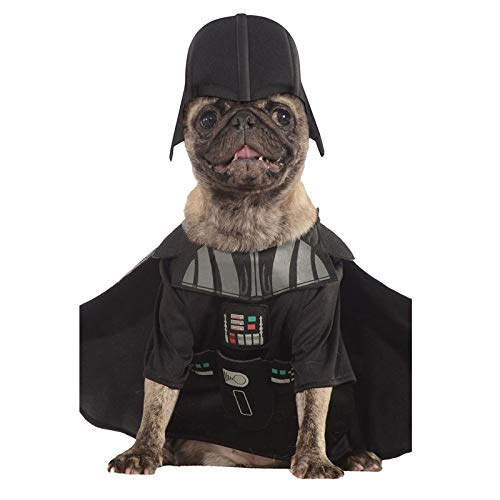 Star Wars - Disfraz Darth Vader para Mascota (Rubie'S Spain) 3