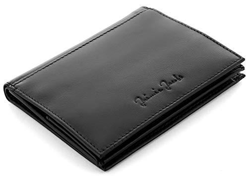 JAIMIE JACOBS Echtleder Geldbörse Folder Boy Slim Wallet mit Münzfach Scheinfa...