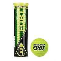 كرة التنس الارضي اول كورت من دنلوب فورت، مجموعة من 3  DL601315 لكل علبة