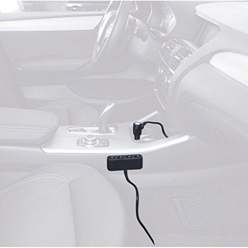 Auto Likorlove 144,8/x 111/cm Auto Parabrezza Neve Ghiaccio Copertura Parasole con Protezione Laterale specchietto Schermo e Bordi antifurto Auto Adatta alla Maggior Parte dei Veicoli CRV SUV RV