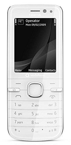 Nokia 6730 classic Weiß - Smartphones (5,59 cm (2.2 Zoll), 240 x 320 Pixel, Weiß)