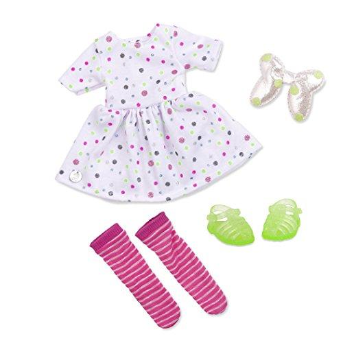 Glitter Girls by Battat - Brillante con Estilo, Parte Superior Brillante y Falda de Traje Regular - Ropa de muñeca de 14 Pulgadas y Accesorios para niñas de 3 años en adelante - Juguetes para niños