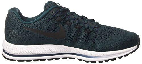 Nike Herren Air Zoom Vomero 12 Laufschuhe schwarz