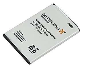 Mitsuru® 3000mAh batterie de remplacement pour LG G3 D830 D850 LTE D851 D855 D855 LTE D855AR D855K D855P F400 LS990 LTE VS985 remplace LG BL-53YH CS-LKF400XL EAC62378901 EAC62378905