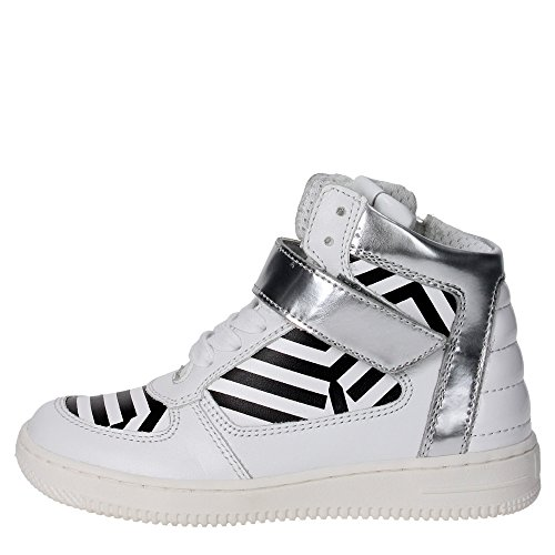 Cult CLJ101473 Sneakers Bambina Pelle BIANCO BIANCO 32