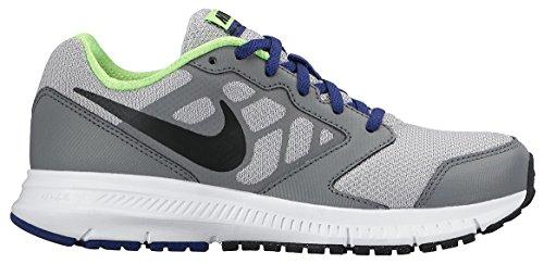 Nike Downshifter 6 Unisex-Kinder Laufschuhe Gris / Negro (Wolf Grey / Black-Dp Ryl Bl-Wht)