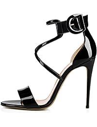 Tacon Amazon esSandalias Para Blancas Mujer 45 De Zapatos 80wXPOkn