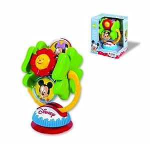 Clementoni - 14274 - Jouet Premier Age - Bébé Disney - Mickey Le Manège À Ventouse