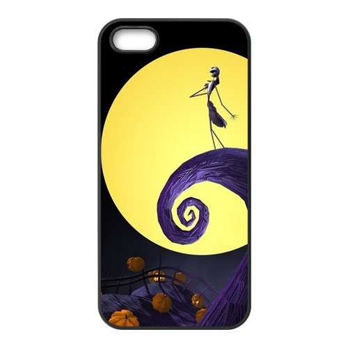 Coque Iphone 5/iPhone 5S Case, Screen Protector pour iPhone 55S, The Nightmare Before Christmas Designs iPhone 5S Case, iPhone 5/iPhone 5S Coque de protection Case