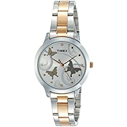 Timex Analog Silver Dial Women's Watch-TW000T607