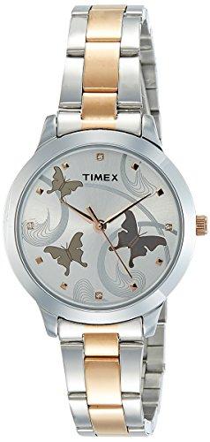 Timex Analog Silver Dial Women's Watch - TW000T607