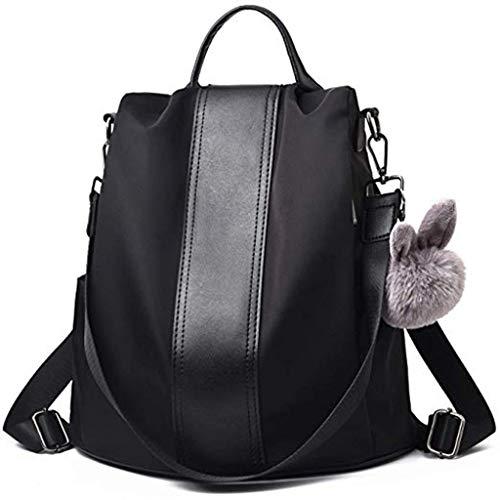 Miss Fortan Damen Rucksack wasserdichte Handtasche Rucksäcke Taschen Mode