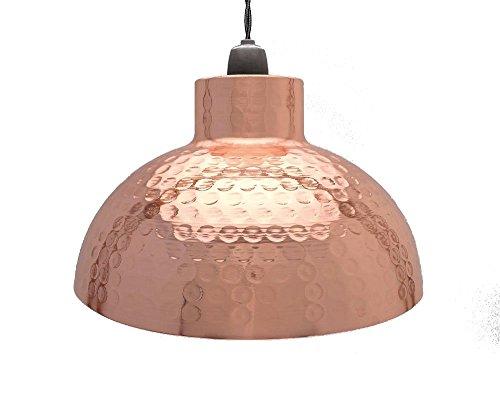 Club Country Lampenschirm, 26cm, Kuppel, Halbkugelform, Kupfer