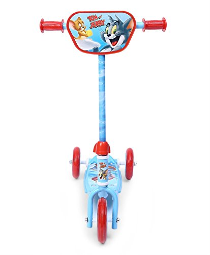 Warner Bros Tom and Jerry  Three Wheel Scooter, Blue/Red