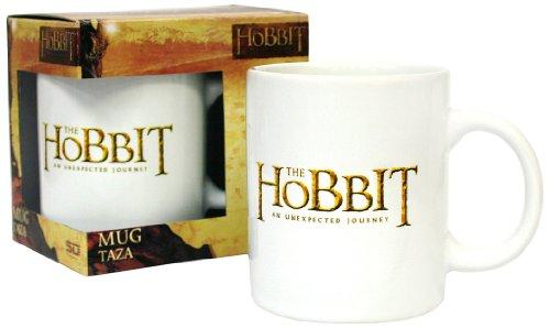 SD Toys The Hobbit - Logo White Ceramic Mug