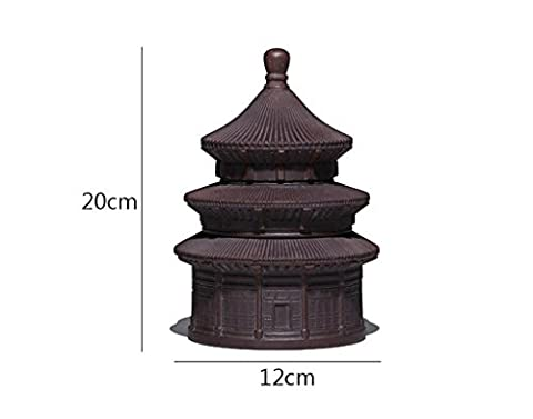 XWQ Tea Pot / Health Tea Cans / Yixing Purple Tea Cans / Temple Of Heaven Storage Canister