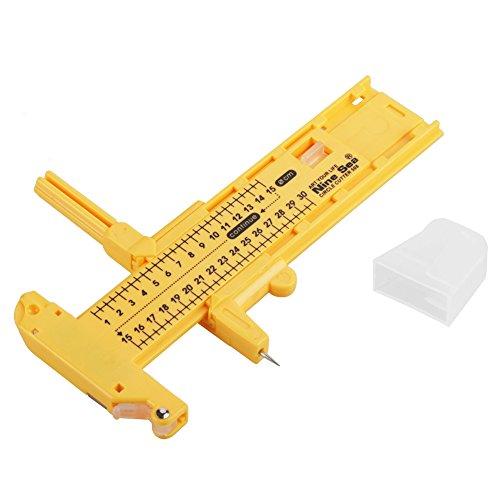 Taglierina rotante carta, taglierina circolare a compasso strumenti da taglio, taglierina a compasso rotante in pelle per artigianato