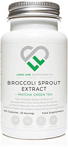 Extracto brotes brócoli + Extracto té verde matcha