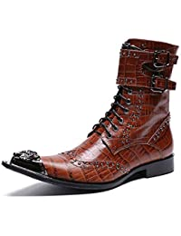 E Borse Stivali Uomo Da Scarpe it Amazon Serpenti wUOqxAYOR