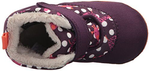 Bogs Kids Elliot Giraffe Snow Boot Eggplant Multi