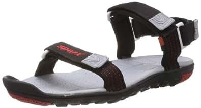 Sparx Men's Bkbk Sandals - 10 UK/India (44.67 EU) (SS0414GBKBK) Black