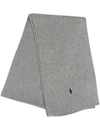 Polo Ralph Lauren Homme Rib Echarpe Logo, Gris