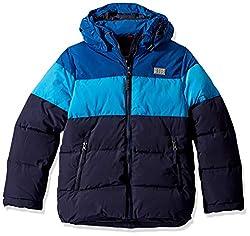 Lego Wear Jungen Lego Boy LWJORDAN 708-Winterjacke Jacke, Blau (Blue 553), (Herstellergröße:134)