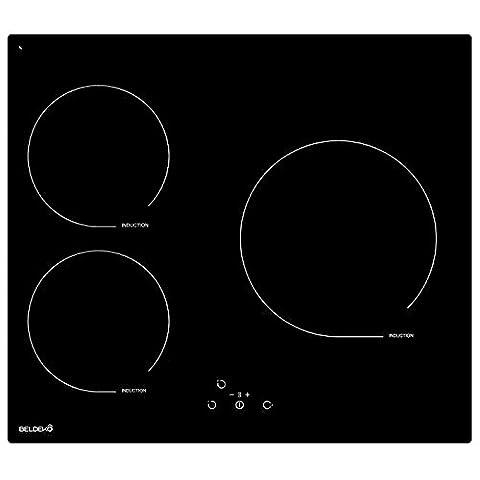 Table de cuisson Induction avec minuterie - BELDEKO BTIM3Z-J01VNO