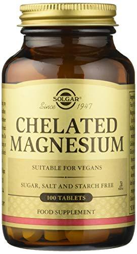Solgar Magnesio Quelado 100 comprimidos
