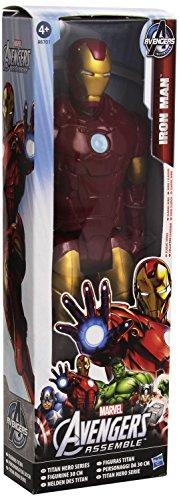 Marvel Avengers Assemble Titan Hero Series Iron Man 30cm Action Figure: A6701