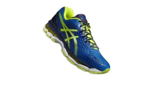 ASICS Gel Nimbus 17 Running Blau Gelb F3907 Größe 40,5
