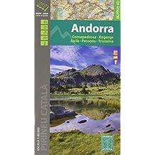 Andorra. Comapedrosa, Engorgs, Juclà, Pessons, Tristaina. Mapa excursionsita. Escala 1:40.000. Editorial Alpina. (ALPINA 40 - 1/40.000)