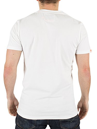Superdry, T-Shirt Uomo Bianca