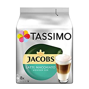tassimo jacobs latte macchiato weniger s. Black Bedroom Furniture Sets. Home Design Ideas