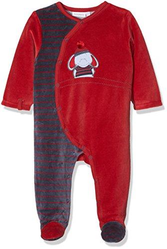 Noukies 1PCS Bord de Mer, Pyjama Bébé Garçon, Rouge (Pomme Cuite), 6M
