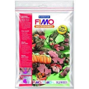 Staedtler Fimo mould Herbstdekoration 10 Motive ca. 6x7cm