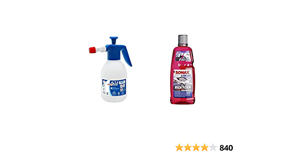 Di Martino Al4002 F Pumpe A Druck Sonax Xtreme Richfoam Shampoo 1 Liter Schaum Shampoo Snow Foam Shampoo Erzeugt Dichten Langhaftenden Schmutzlösenden Schaumteppich Auto