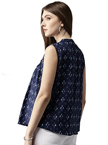 Amayra-Womens-Cotton-A-Line-Printed-Top