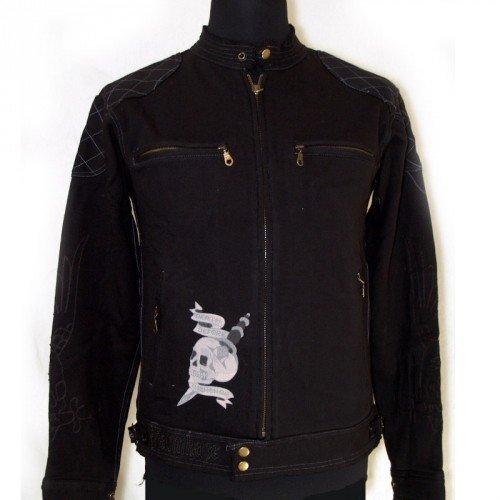 Ed Hardy uomo motor cycle giacca 'Panther & interrogarono' (A9DXHJZS)