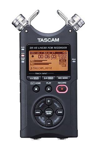 Tascam DR-40 – 4-Track handeld digital audio