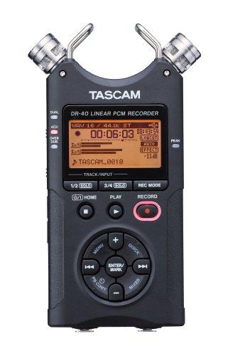 Tascam DR-40 – Grabadora de mano de 4 pistas