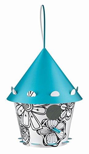 Tweet Tweet Home Birdhouse Uccello plastica riciclata per l'assemblaggio del modello di fiore