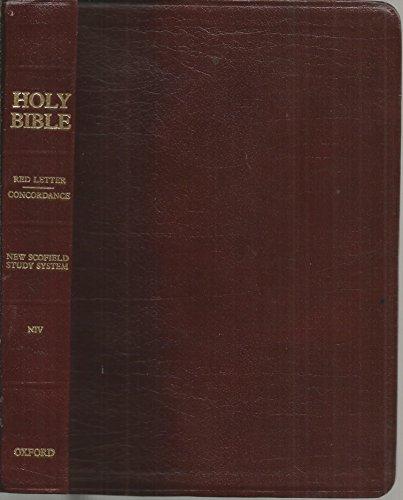 Oxford Niv Scofield Study Bible: New International Version (Scofield Study Bible-niv)