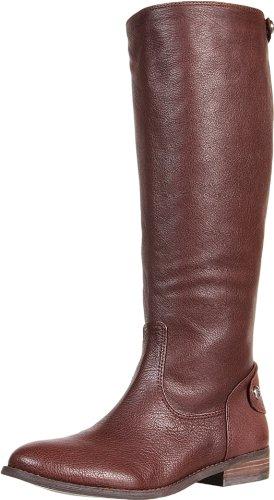BCBGeneration Shania Damen Rund Leder Mode-Knie hoch Stiefel Neu Brownie