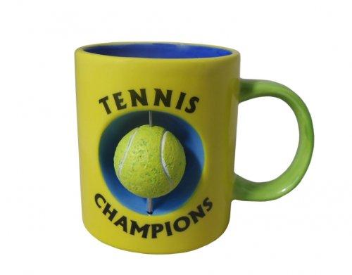 Kaffeetasse Tennis - Tasse mit beweglichem Tennisball