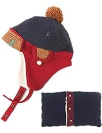 WZF Cappello Bambini Inverno Cappello Bambino Autunno E Inverno Ragazzi E  Ragazze Versione Coreana Bambini Invernali con Velluto Caldo… 78afff95f538