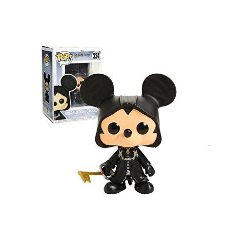 FunKo Disney Kingdom Hearts Figure 334 Organization 13 Mickey W/Glow Statua Collezionabile Exclusive, 25352